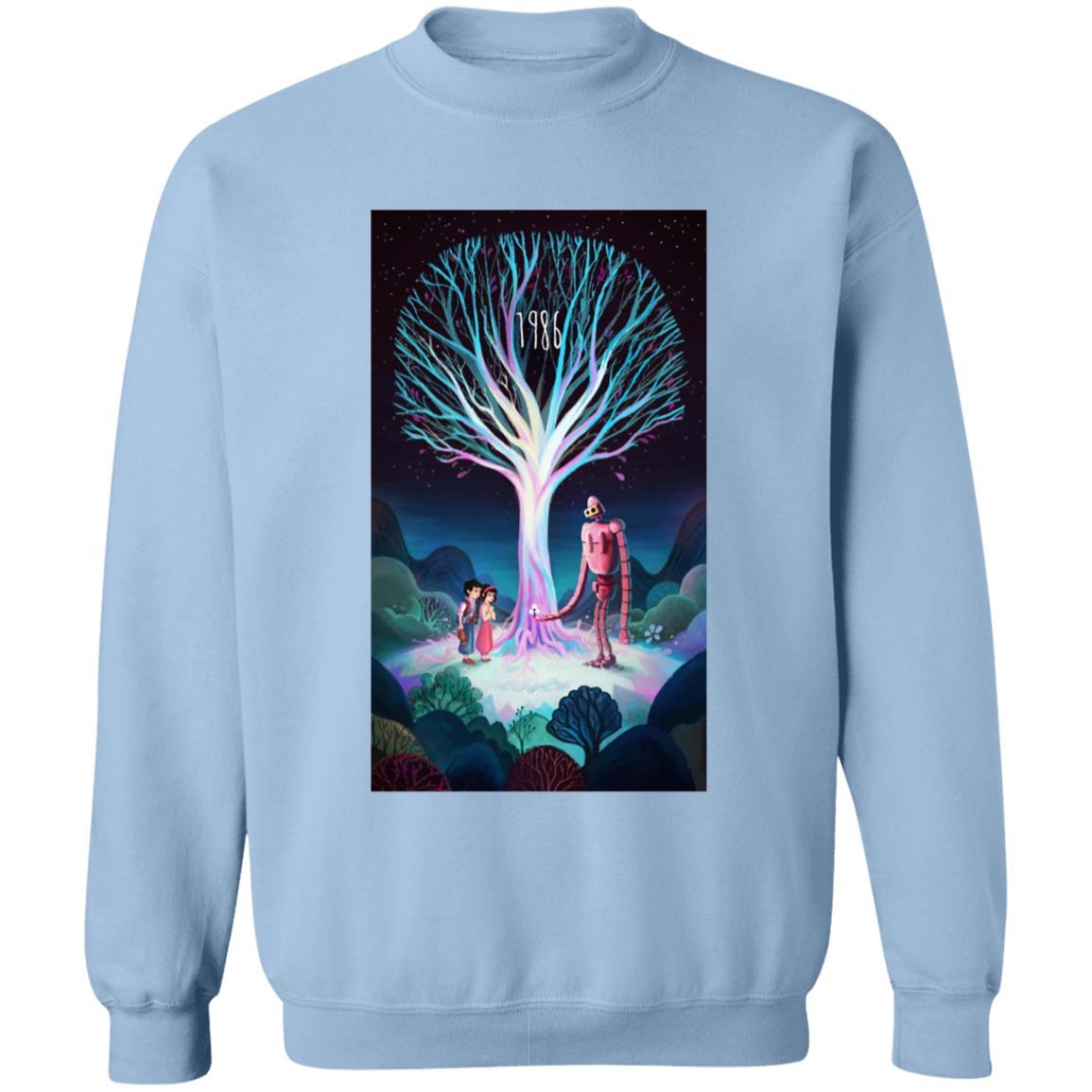 Laputa: Castle in The Sky 1986 Illustration Sweatshirt