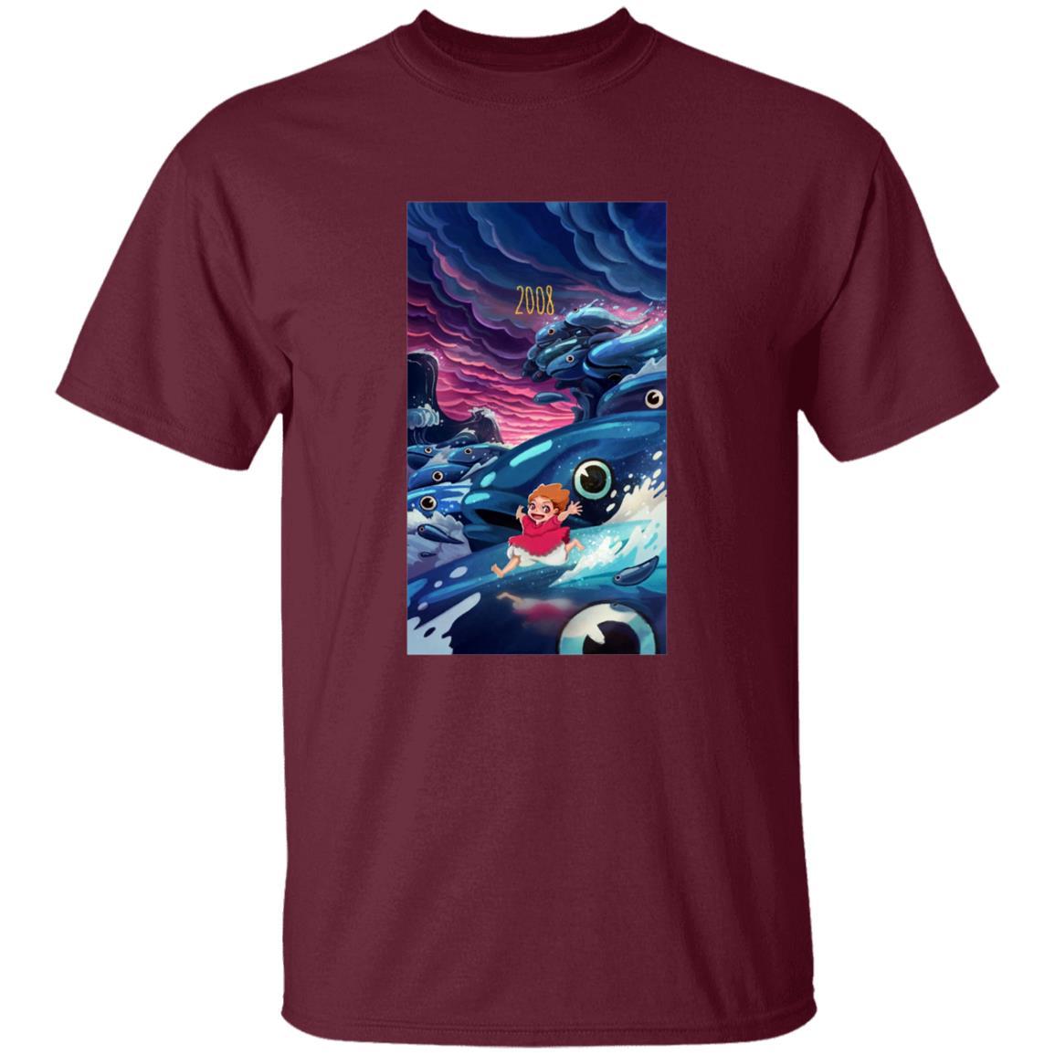 Ponyo 2008 Illustration T Shirt